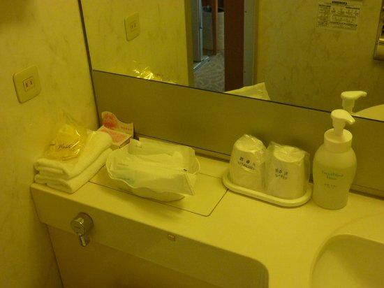 Hotel Rose Garden Shinjuku: prodotti del bagno