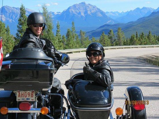 Jasper Motorcycle Tours Day Tours: Jasper Motorcycle Tours