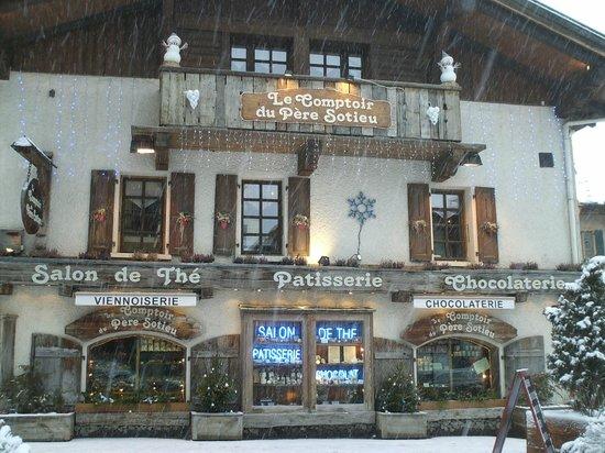 Le Comptoir du Pere Sotieu : comptoir du père sotieu à Megève