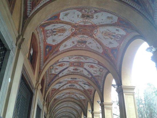 Bologna portici decorati foto di portico del for Avvolgere le planimetrie del portico