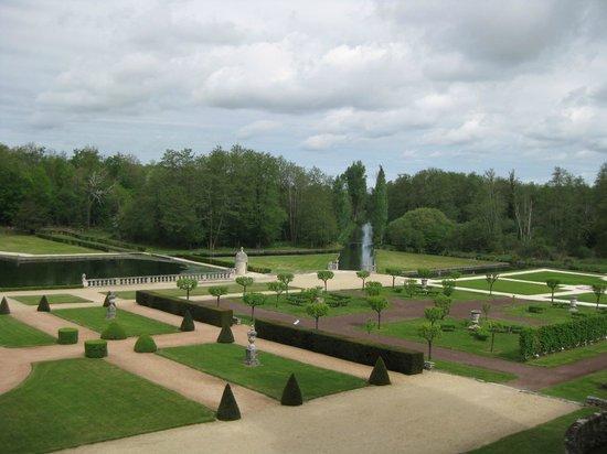 Château de La Roche-Courbon : Jardin