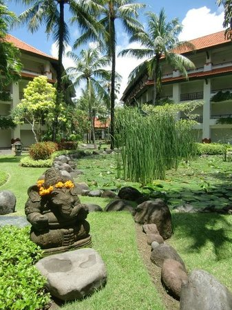 Grand Hyatt Bali: Hotel grounds