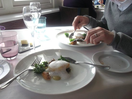 The Hambrough: Fish course