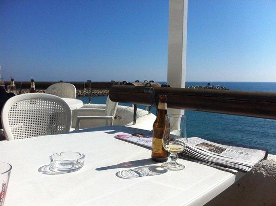 Restaurante Cal Sisquet: Súper vistas