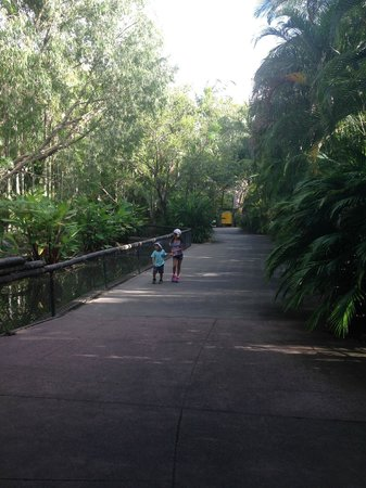 Australia Zoo : Peace and serenity.