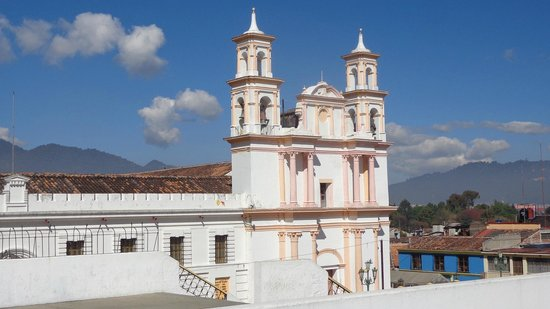 Museo del Ambar: The Church next door to the Amber Museum