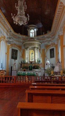 Museo del Ambar: Inside the church next door