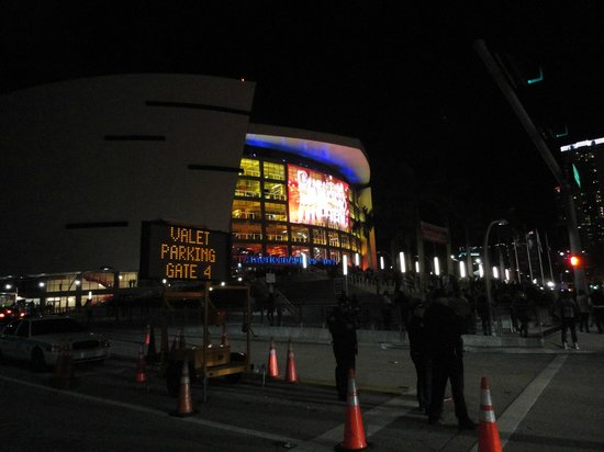 American Airlines Arena : luces