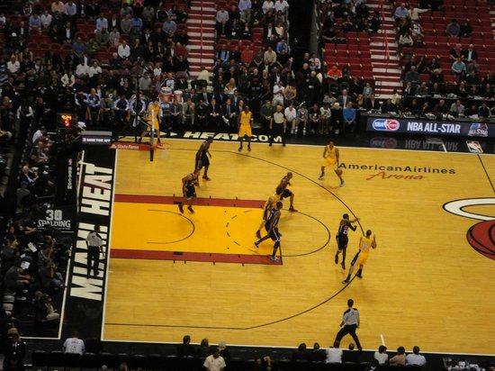 American Airlines Arena : partido