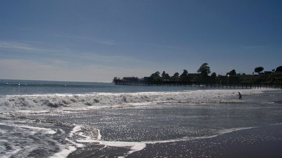 Capitola City Beach : Wharf