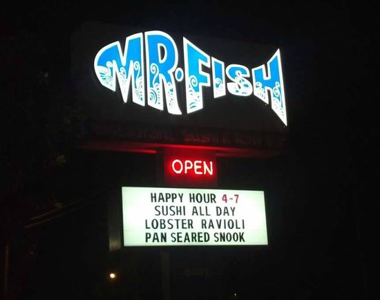 Fried haddock fish sandwich picture of mr fish myrtle for Mr fish myrtle beach sc