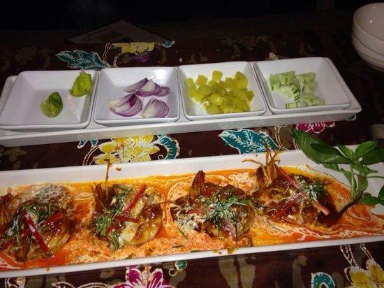 Beach House Restaurant: .
