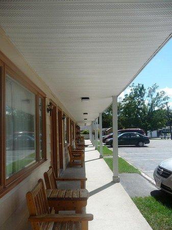 Cozy Corner Motel : Lobby View