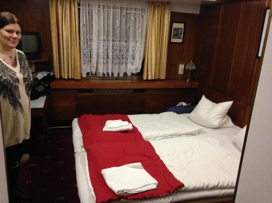 Botel Albatros: Hotellrummet