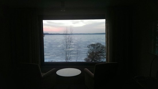 Hilton Helsinki Kalastajatorppa : View from the room