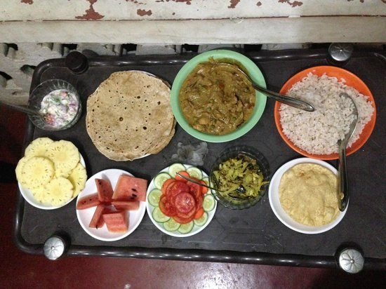 Our last meal at Nakshathra Inn