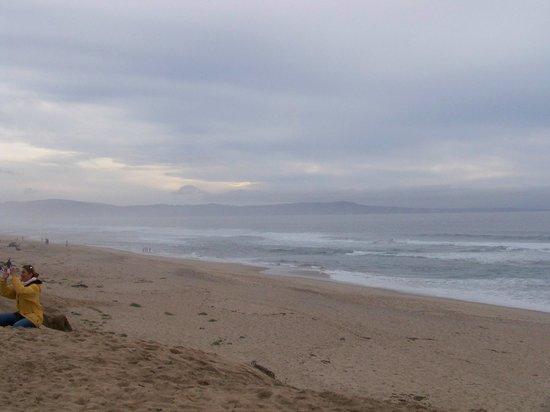 Sanctuary Beach Resort: Foggy ocean view