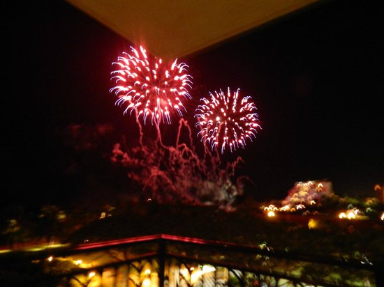 Beach Villas at Ko Olina: Excellent view of Disney Fireworks