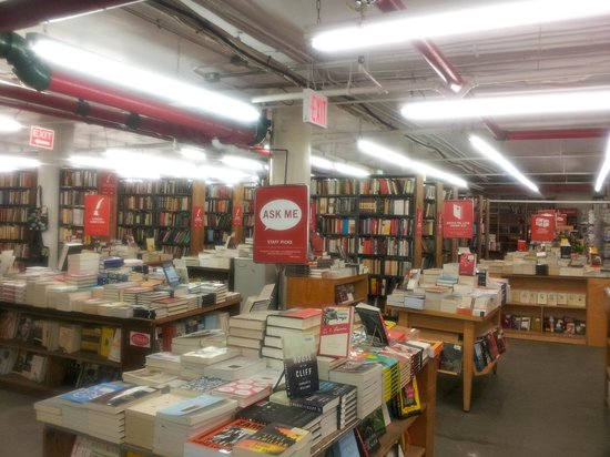 Inside the Strand Bookstore