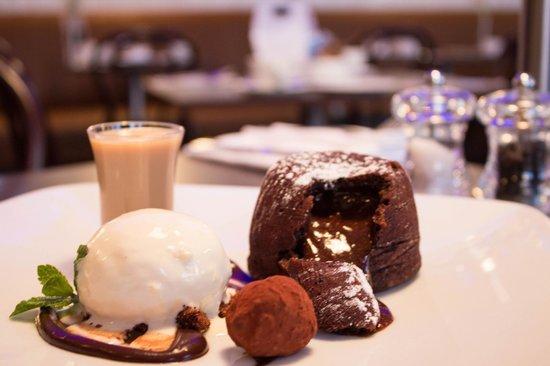 De Lacy's Steak & Seafood Restaurant Drogheda : Chocolate Fondant at De Lacys Steak & Seafood Restaurant Drogheda