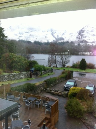Achray House Hotel & Lodges: View from the room