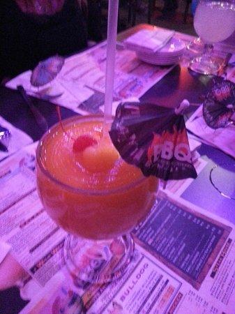 Dallas BBQ Times Square : pinapple