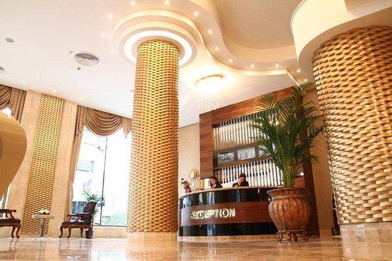 Amethyst Hotel Istanbul: Lobby view