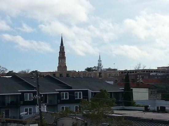 Ansonborough Inn : View From Rooftop Deck