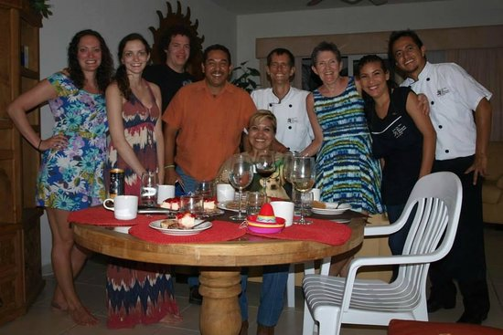 My Mexican Kitchen : all of us with the Mexican Kitchen staff