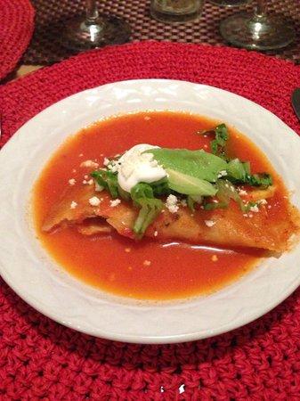My Mexican Kitchen : Chicken enchiladas