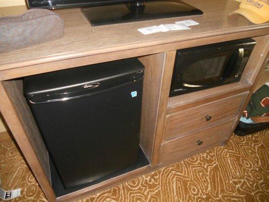 Hampton Inn & Suites Springdale Zion National Park: humming fridge