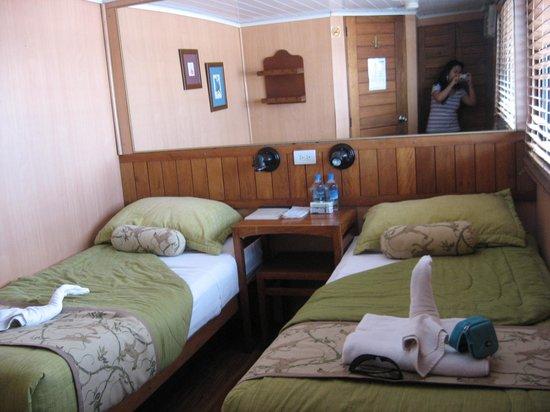 Manatee Amazon Explorer: habitación