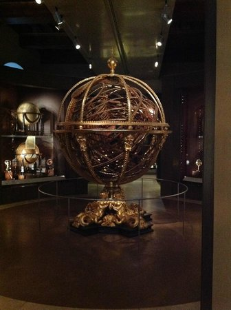Museo Galileo - Institute and Museum of the History of Science: Huge globe.