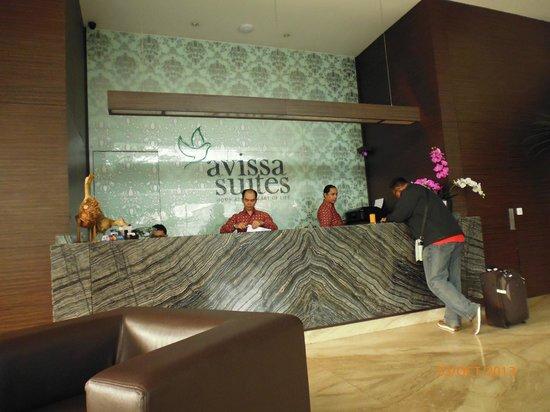 Avissa Suites: Reception