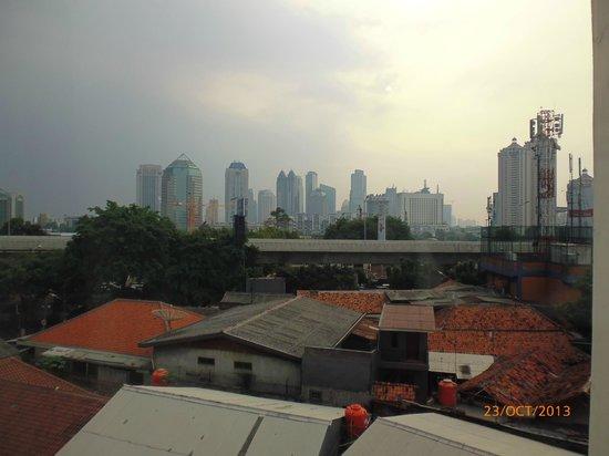 Avissa Suites: View of Jakarta City