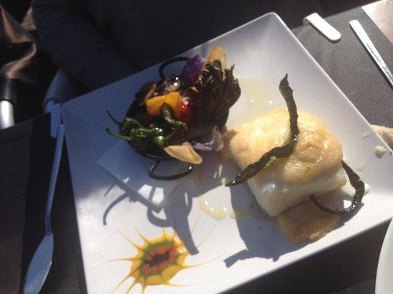 Restaurante La Marmita: Bacalao con allioli