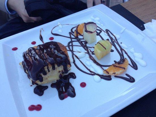 Restaurante La Marmita: Tarta de la casa