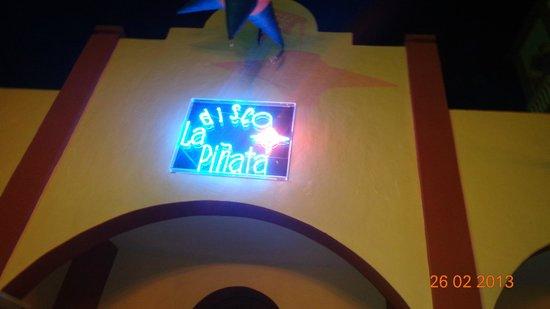 Hotel Riu Playacar: Antro de Riu Lupita