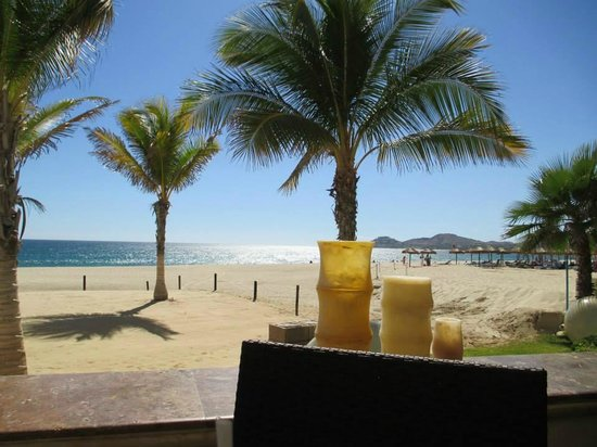 Hyatt Ziva Los Cabos: view from beach restaurant