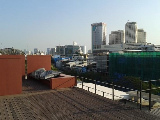 Loog Choob Homestay: Lovely roofdeck