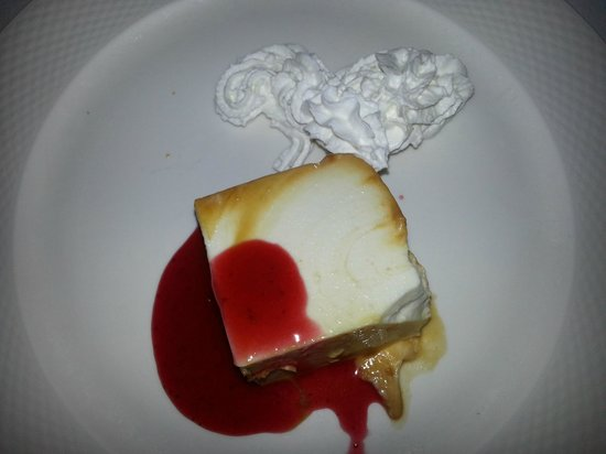 Restaurante Biarritz: Tarta de queso