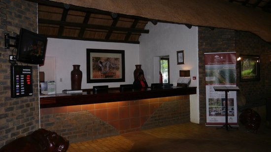 Bakubung Bush Lodge: Reseption