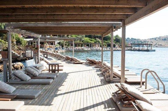 Macakizi Hotel Bodrum : Beach