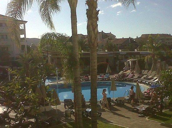 Aparthotel Parque de la Paz: view from our room