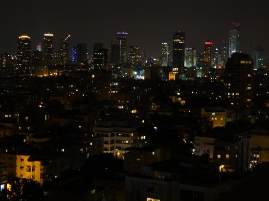 Herods Tel Aviv : City view from Room 1811