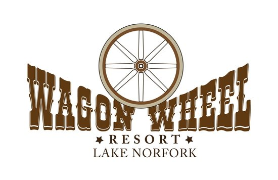 Wagon Wheel Resort Lake Norfork : Resort Logo