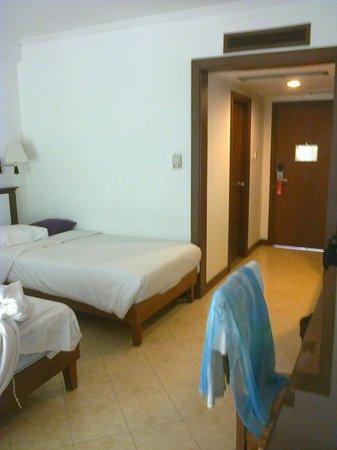 Pinnacle Grand Jomtien Resort: Удобные мягкие кровати