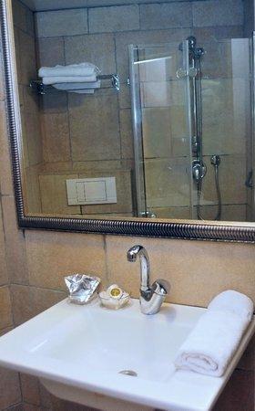 Palatin Hotel: Bathroom