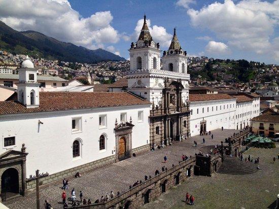Casa Gangotena: View from Hotel rooftop