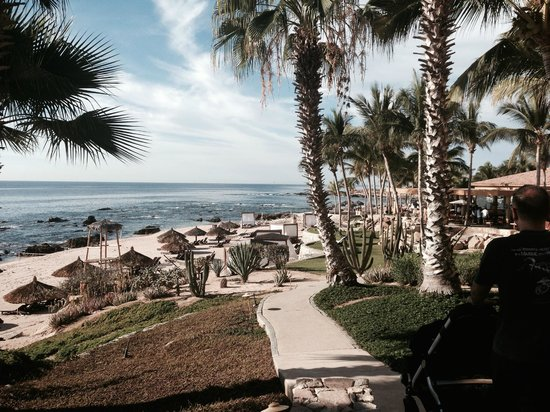 Grand Fiesta Americana Los Cabos All Inclusive Golf & Spa: Beach for snorkeling